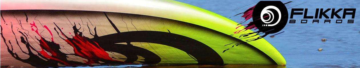 Flikka — кастомные доски для виндсерфинга спроектированные и сделанные в Европе